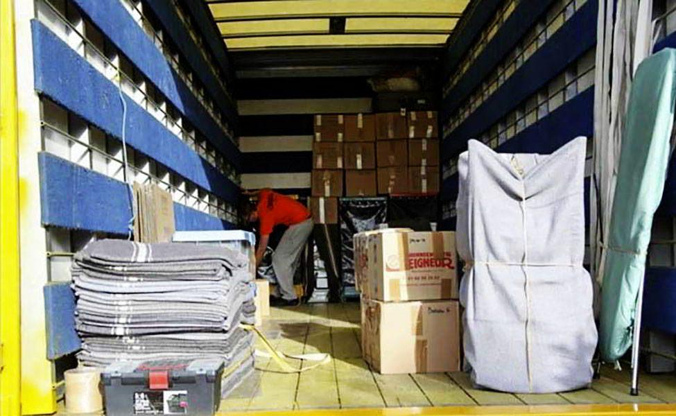 Charger correctement le camion pour bien l'organiser